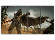 Load image into Gallery viewer, Multi Panel Star Wars X Mad Max Split Grouped Wall Canvas Art