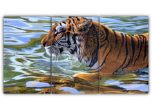 Load image into Gallery viewer, Swimming Tiger