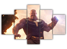 Load image into Gallery viewer, Multi Panel Thanos Titan Split Grouped Wall Canvas Art