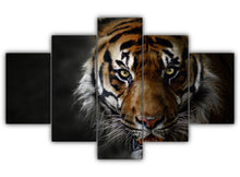 Load image into Gallery viewer, Multi Panel The Big Cat Split Grouped Wall Canvas Art