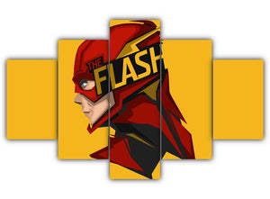 Multi Panel The Flash Split Grouped Wall Canvas Art