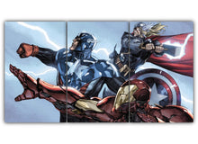 Load image into Gallery viewer, Thor Captain America Iron Man