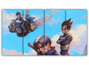Vegeta Future Trunks and Androids
