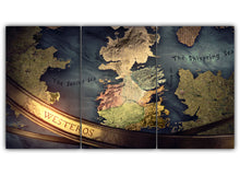 Load image into Gallery viewer, Westeros Map