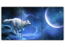 Load image into Gallery viewer, Wolf Fantasy in Blue