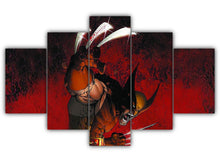 Load image into Gallery viewer, Multi Panel Wolverine comic Split Grouped Wall Canvas Art