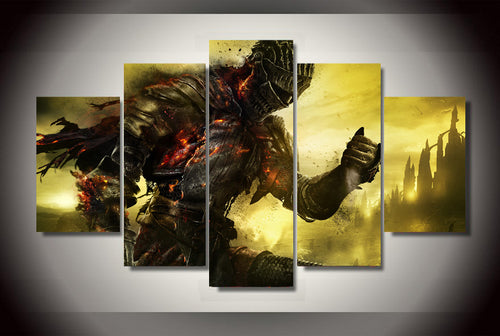 Multi Panel Dark Souls 3 Split Grouped Wall Canvas Art