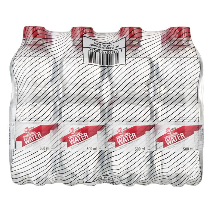 AH BASIC Sparkling water 12 x 0,5 l