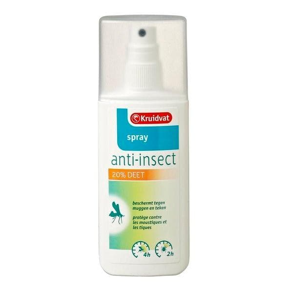 Kruidvat 20% Deet Anti-insect Spray 75ml