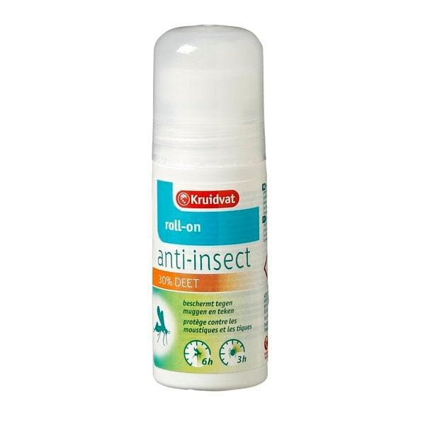 Kruidvat 30% Deet Anti-Insect Roll-On 50ml