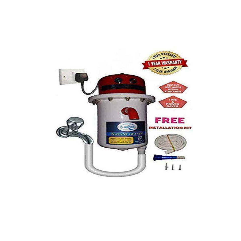 Instant Portable Water Heater/Geyser