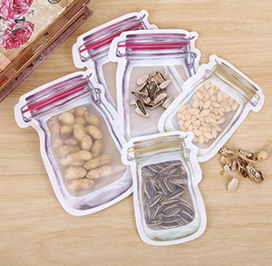 MECHDEL JAR SHAPED STORAGE POUCH 10PCS SET