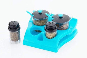 MECHDEL Multipurpose Set of 2 pickel, Spice Container and 2 Salt Pepper Set for Different Needs.