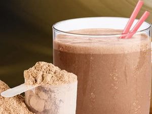 Vegan Chocolate Protein Shake
