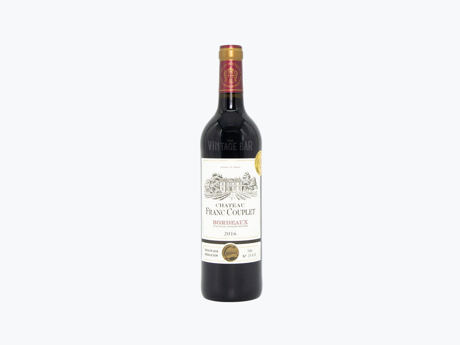 Chateau Franc Couplet (Red) (2016) 750ml