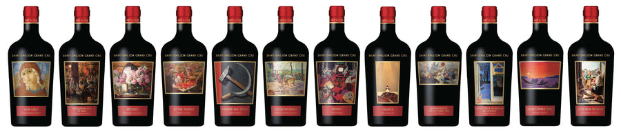 Art Russe Saint-Emilion Grand Cru 2015 w/case 750ml
