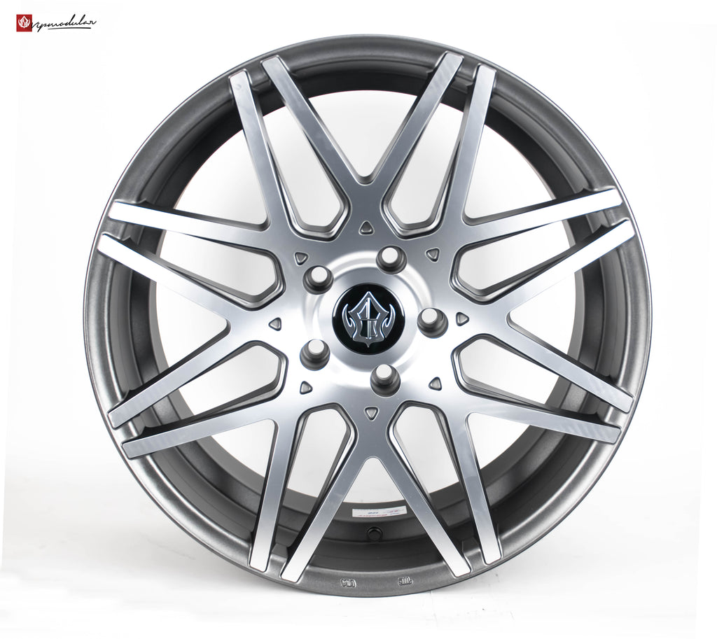 VIP Modular VRC-13 19inch Diamond Cut with Gunmetal Accent Windows