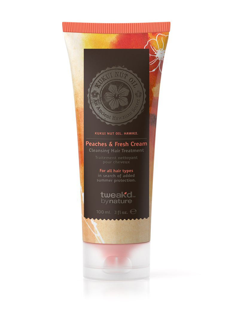 Rare Treasures Peaches and Fresh Cream Cleansing Hair Treatment 100ml (3 fl.oz)