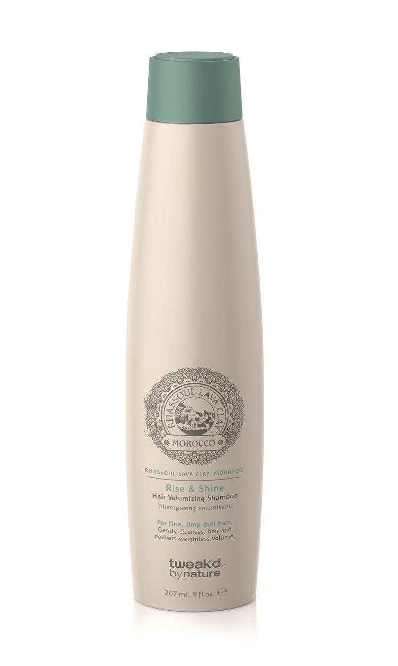 Rhassoul. Rise and Shine Hair Volumising Shampoo 267ml (9fl.oz)