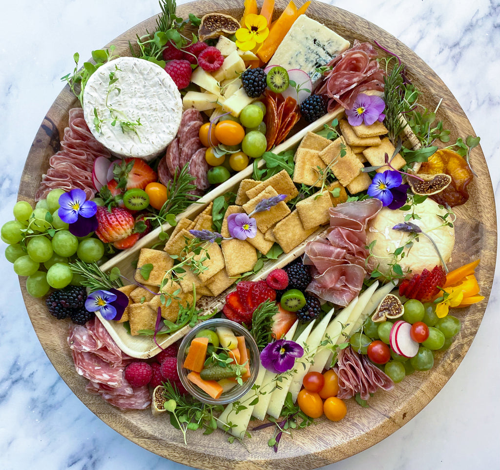 How to build a keto charcuterie board