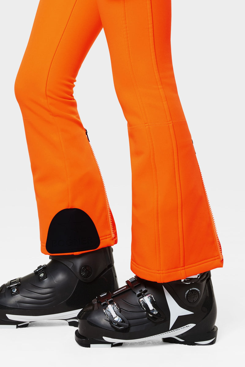Haze Ski Pants - Bogner - Orange - side view