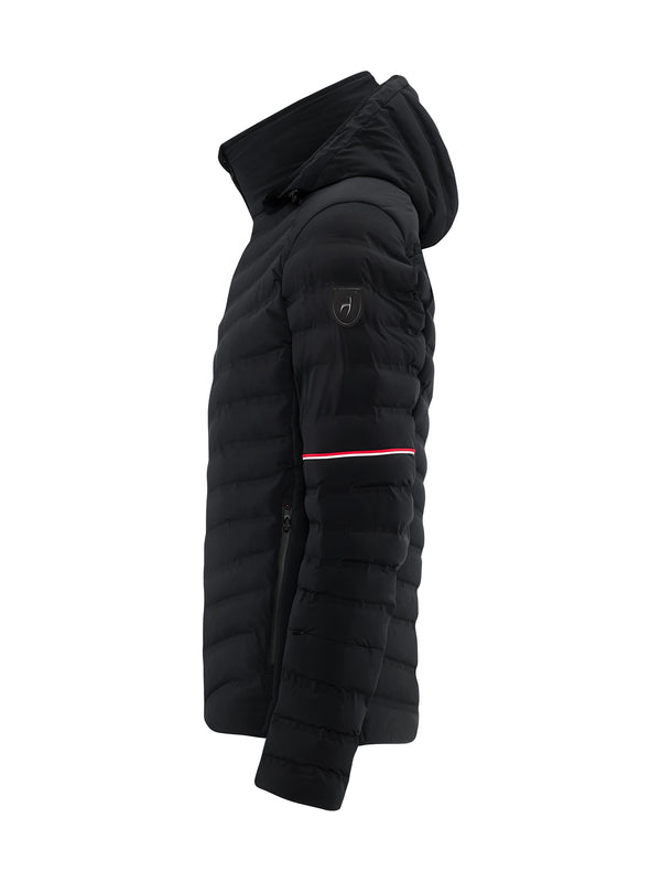 Ruven Men's Ski Jacket - Toni Sailer - Black - side view