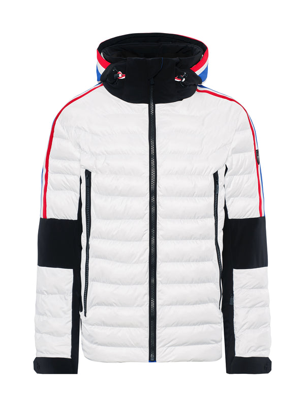 Glyn Ski Jacket - Toni Sailer - Bright White - front view