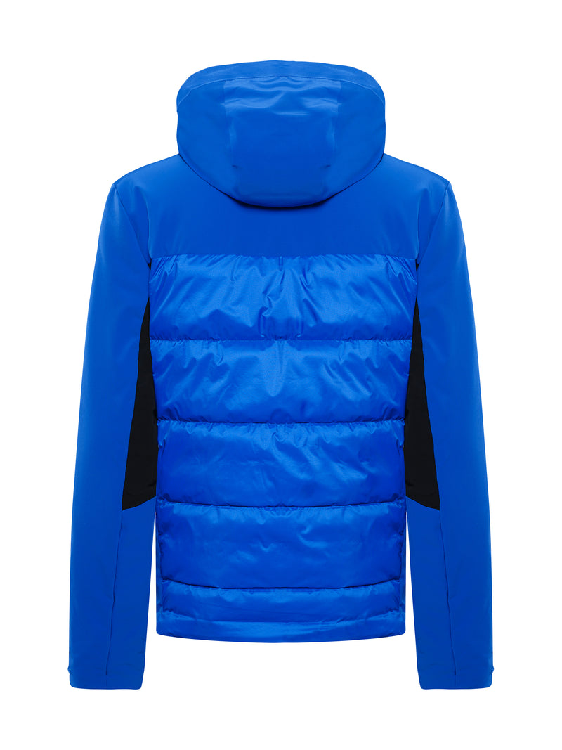 Colin Ski Jacket - Toni Sailer - Yves blue - back view