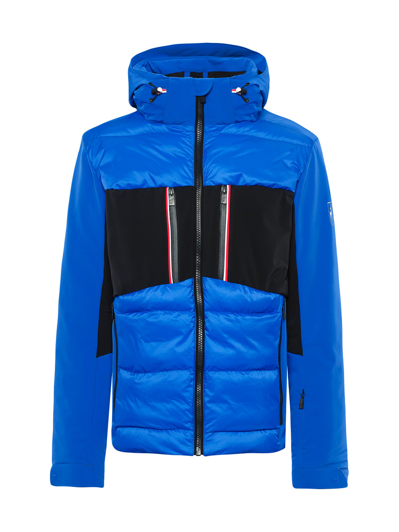 Colin Ski Jacket - Toni Sailer - Yves blue - front view