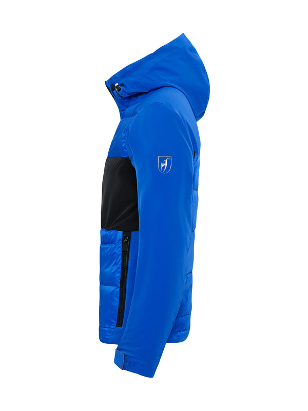 Colin Ski Jacket - Toni Sailer - Yves blue - side view