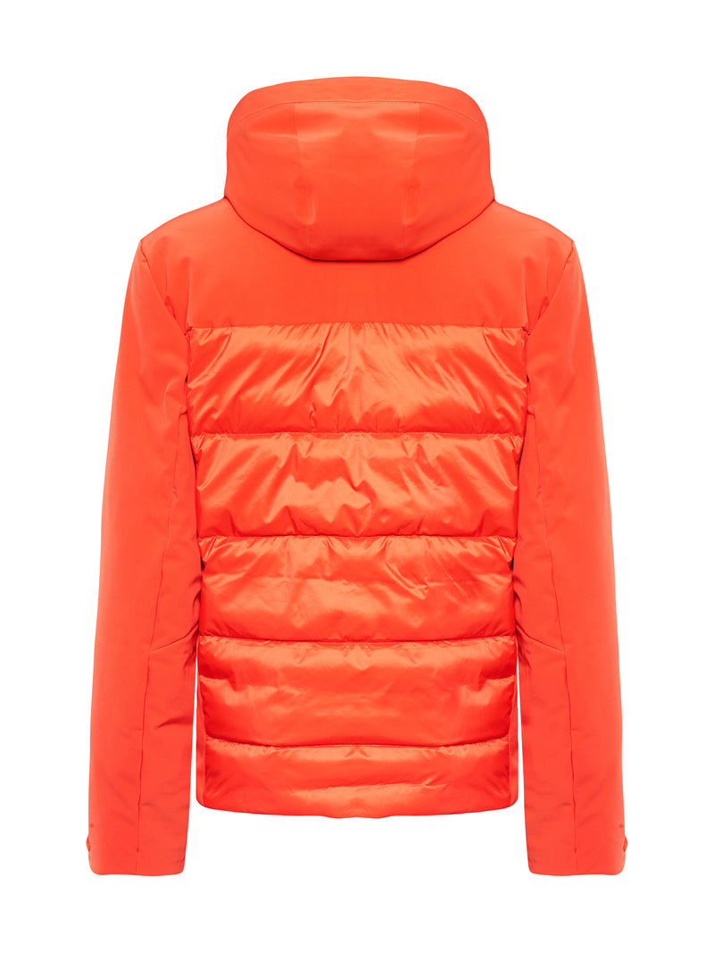 Colin Ski Jacket - Toni Sailer - Zesty Orange - back view