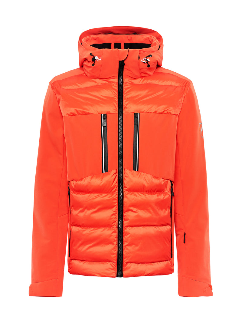 Colin Ski Jacket - Toni Sailer - Zesty Orange - front view