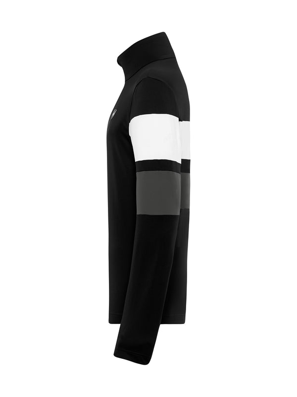 Samu Men's Base Layer - Toni Sailer - Black - side view