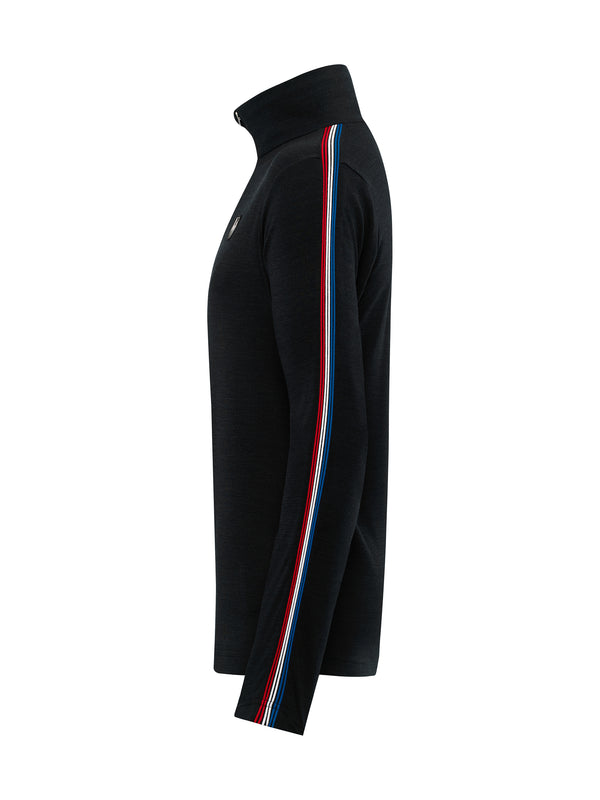 Joe Merino Mid Layer - Toni Sailer - Black - side view
