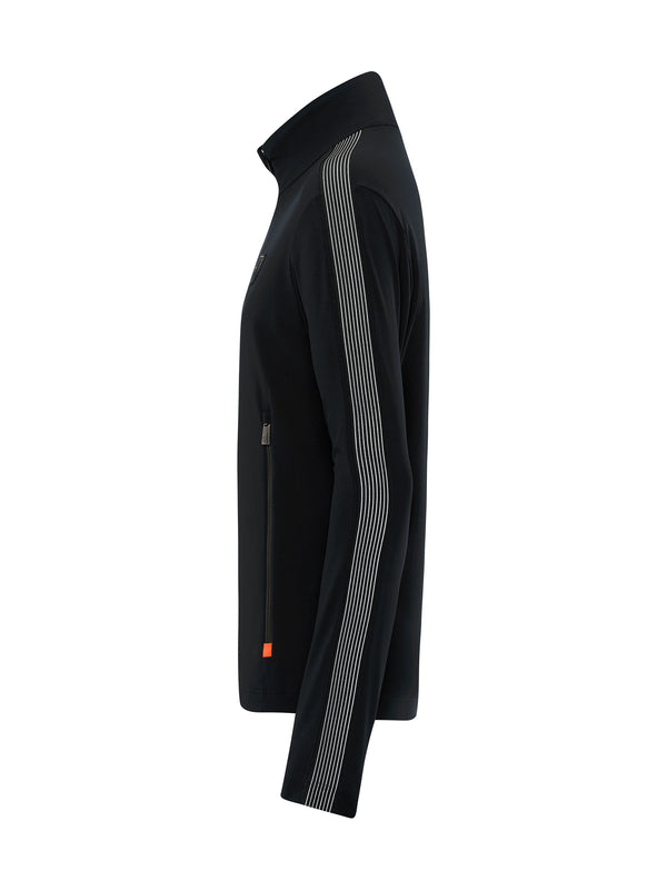 Niam men's first layer - Toni Sailer - Black - side view