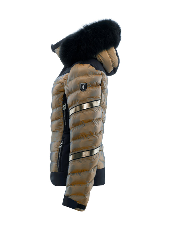 MADITA FUR - Ski Jacket - Toni Sailer - Golden Glacier - side view