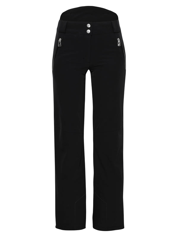 Victoria Ski Pants - Toni Sailer - Black - front view