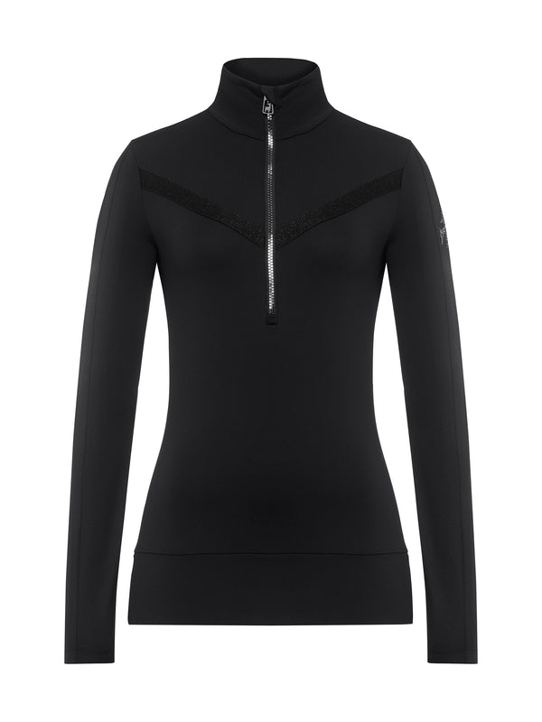 Anouk - Womans Ski Shirt - Toni Sailer - Black - front view