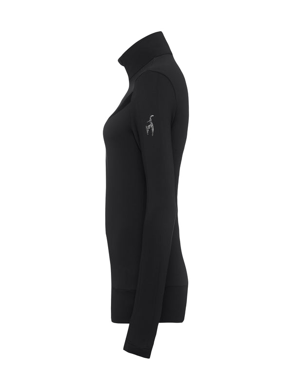 Anouk - Womans Ski Shirt - Toni Sailer - Black - side view