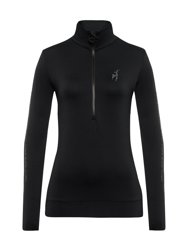 Wieka Women's Special First Layer - Toni Sailer - Black - front view