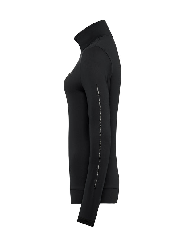 Wieka Women's Special First Layer - Toni Sailer - Black - side view