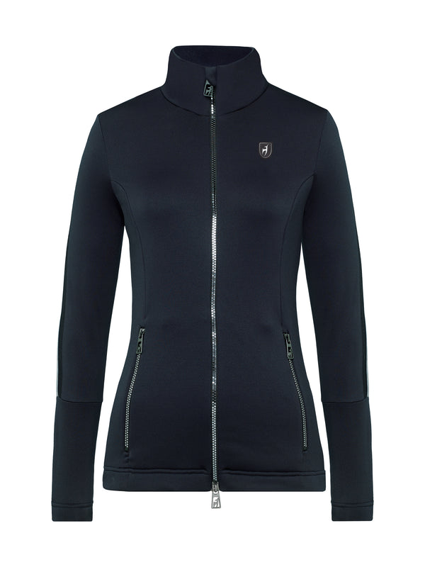 Rosa Fleece Jacket - Toni Sailer - Midnight - front view