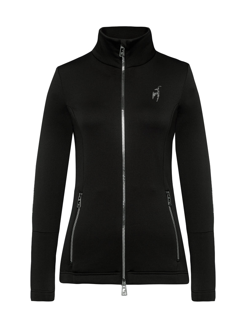 Rosa Spacial Women's Mid Layer - Toni Sailer - Black - front view