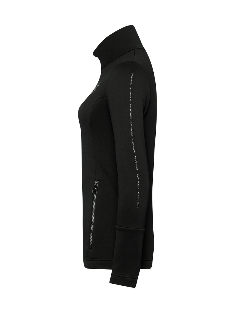 Rosa Spacial Women's Mid Layer - Toni Sailer - Black - side view