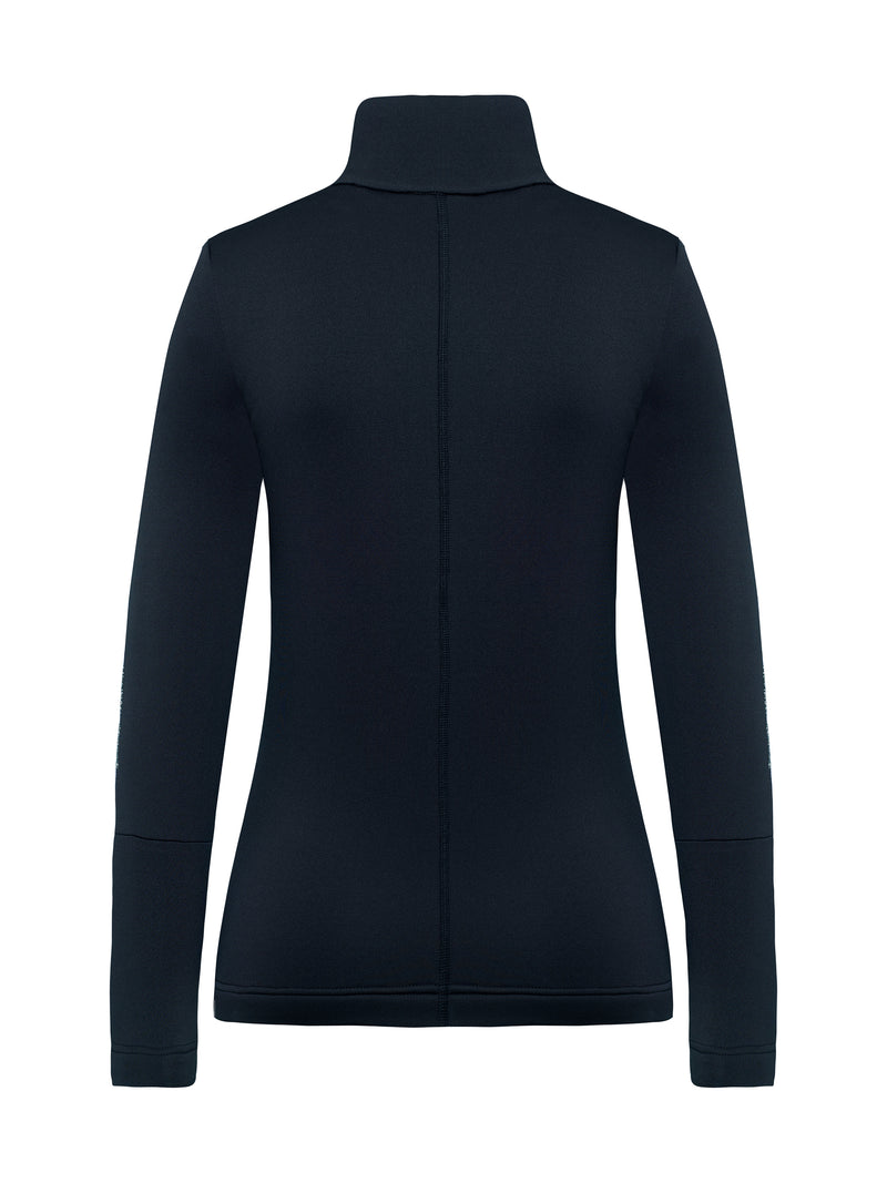 Rosa Spacial Women's Mid Layer - Toni Sailer - Midnight - back view
