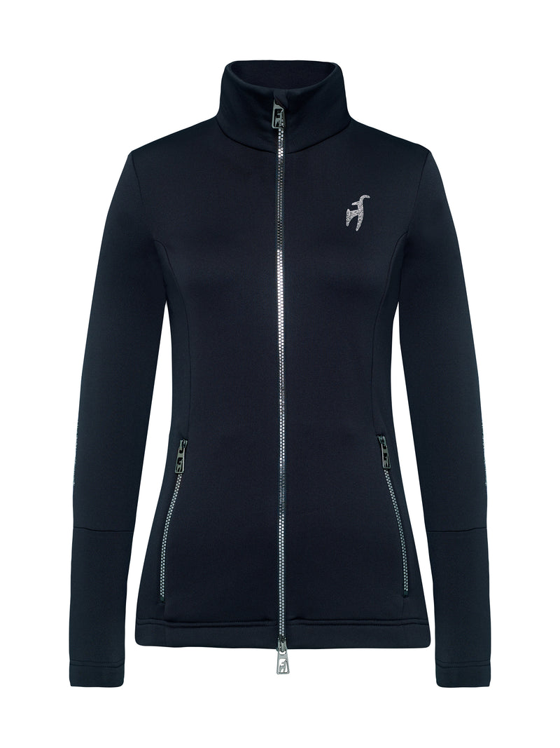 Rosa Spacial Women's Mid Layer - Toni Sailer - Midnight - front view