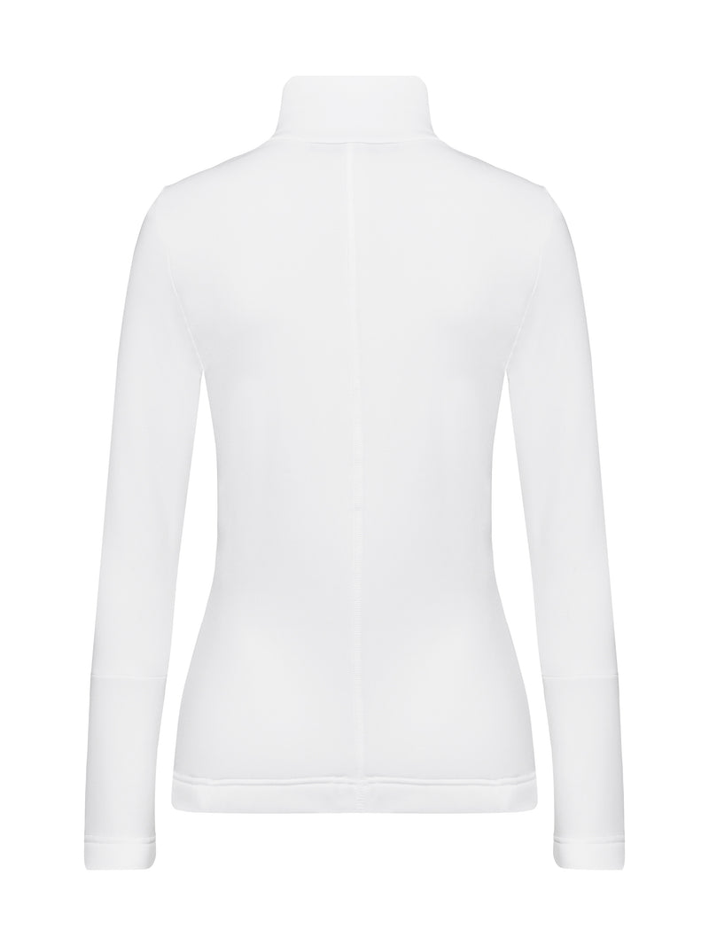Rosa Spacial Women's Mid Layer - Toni Sailer - White - back view