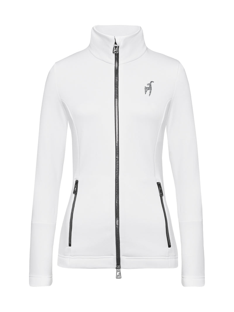 Rosa Spacial Women's Mid Layer - Toni Sailer - White - front view