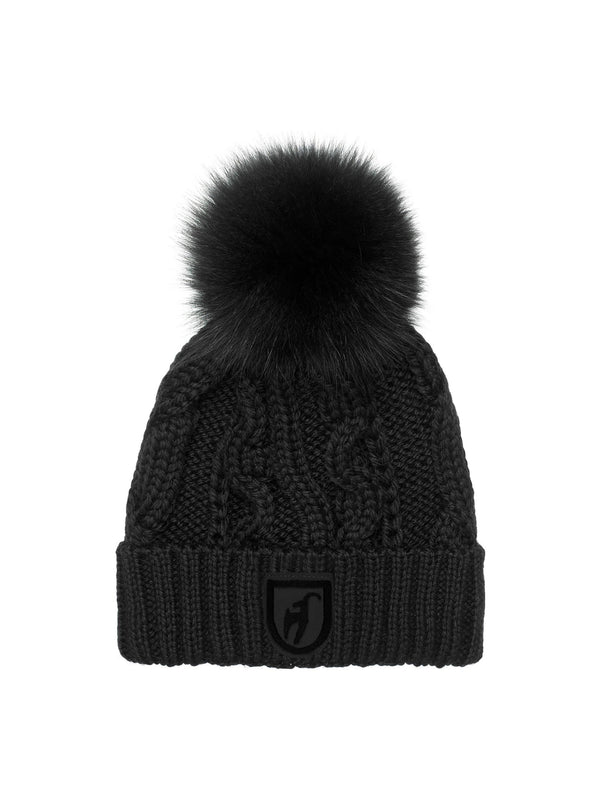 Cassandra Ladies' knitted cap - Black - Toni Sailer