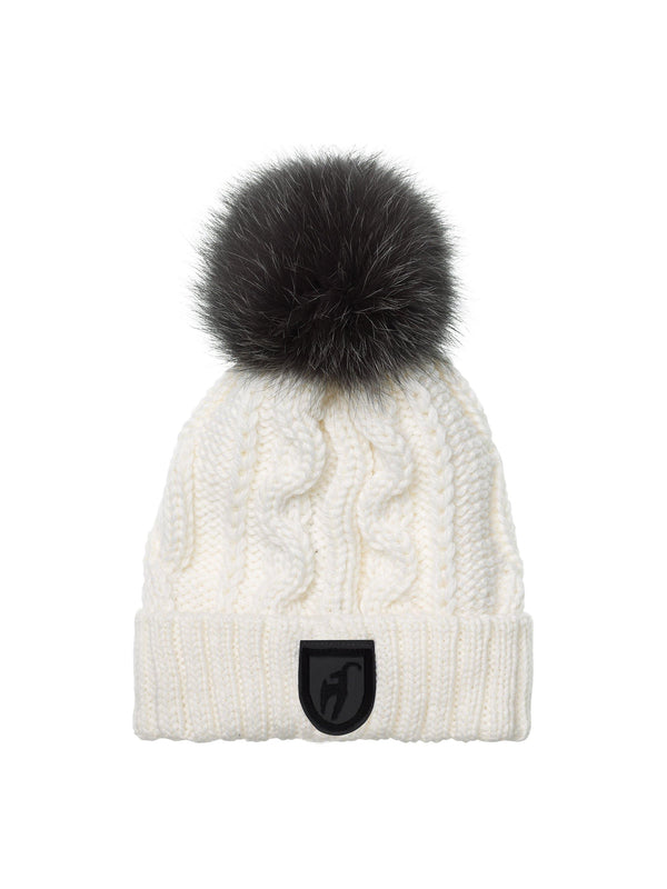 Cassandra Ladies' knitted cap - White - Toni Sailer